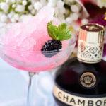Blush Slush - Frozen Black Raspberry Cocktail to Beat the Heat