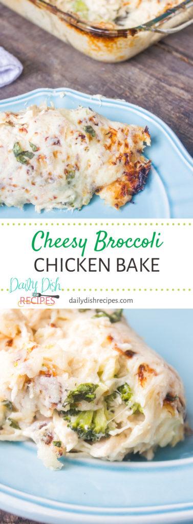 Cheesy Broccoli Chicken Bake