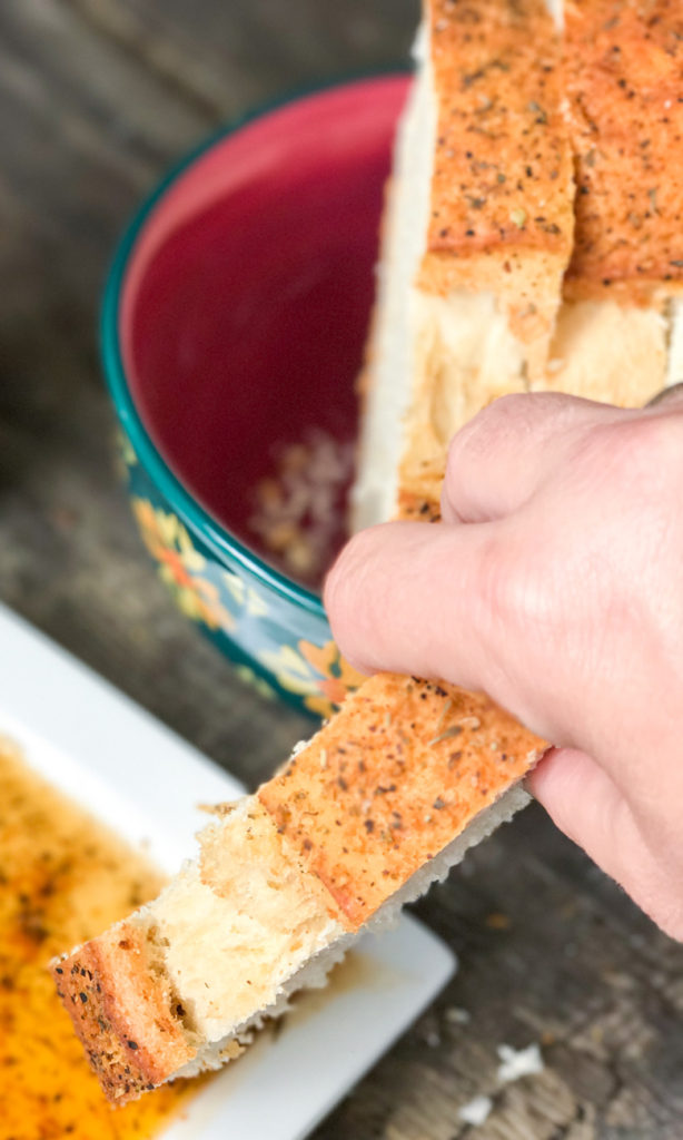 Homemade Herb Crusted Italian Bread