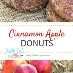 Cinnamon Apple Donuts