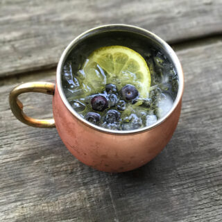 Lemon Blueberry Moscow Mule