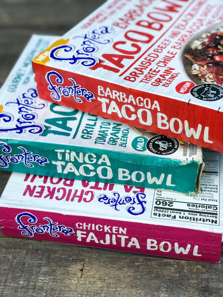 Frontera Taco and Fajita Bowls