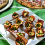 Cheesy Herb Stuffed Prosciutto Cups