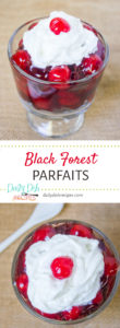 Black Forest Parfaits Pinterest Pin