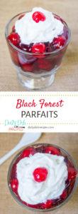 Black Forest Parfaits Pinterest Pin