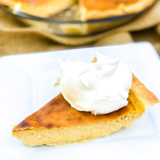 Easy Pumpkin Cheesecake Pie #pumpkinweek