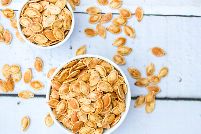 Easy Spiced Pumpkin Seeds