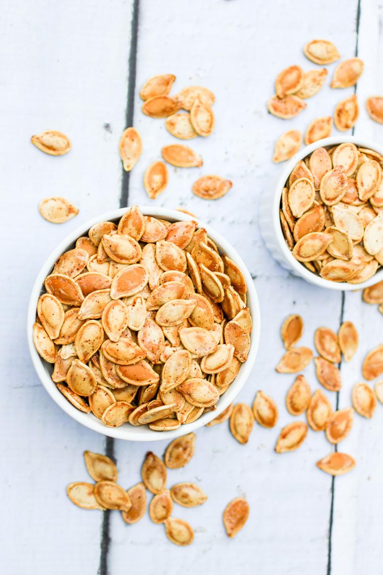 Easy Spiced Pumpkin Seeds