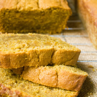 Pumpkin Spiced Banana Bread #pumpkinweek