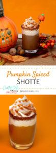 Pumpkin Spiced Shotte Recipe