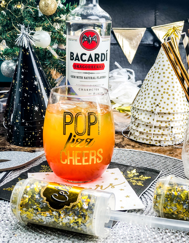 15 Summer Cocktails To Beat the Heat - Dragon's Sunset Cocktail