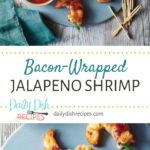 Bacon-Wrapped Jalapeno Shrimp with Cherry Cola BBQ Sauce