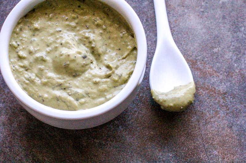 Creamy Herb Pesto Dip | A Great Game Day Recipe