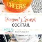 Dragon's Sunset Cocktail