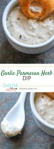 Garlic Parmesan Herb Dip