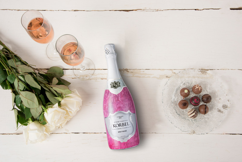 15 Summer Cocktails To Beat the Heat - Korbel Ruby Rose Champagne Cocktail