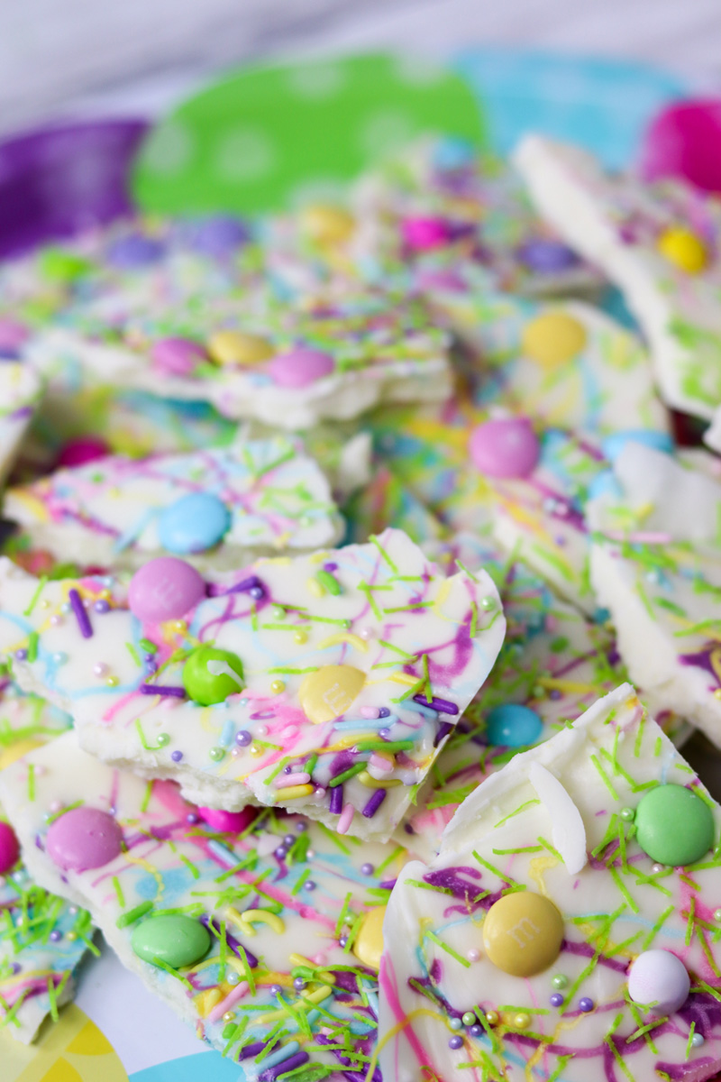 Easy Easter Candy Bark