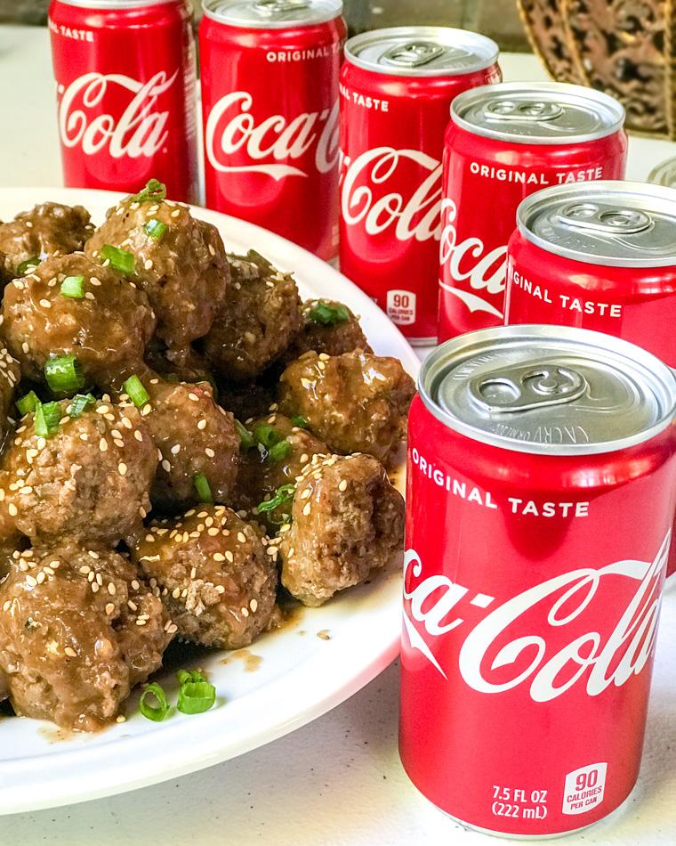 Beefy Coca Cola Meatballs