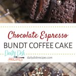 Chocolate Espresso Bundt Coffee Cake