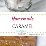 Homemade Salted Caramels