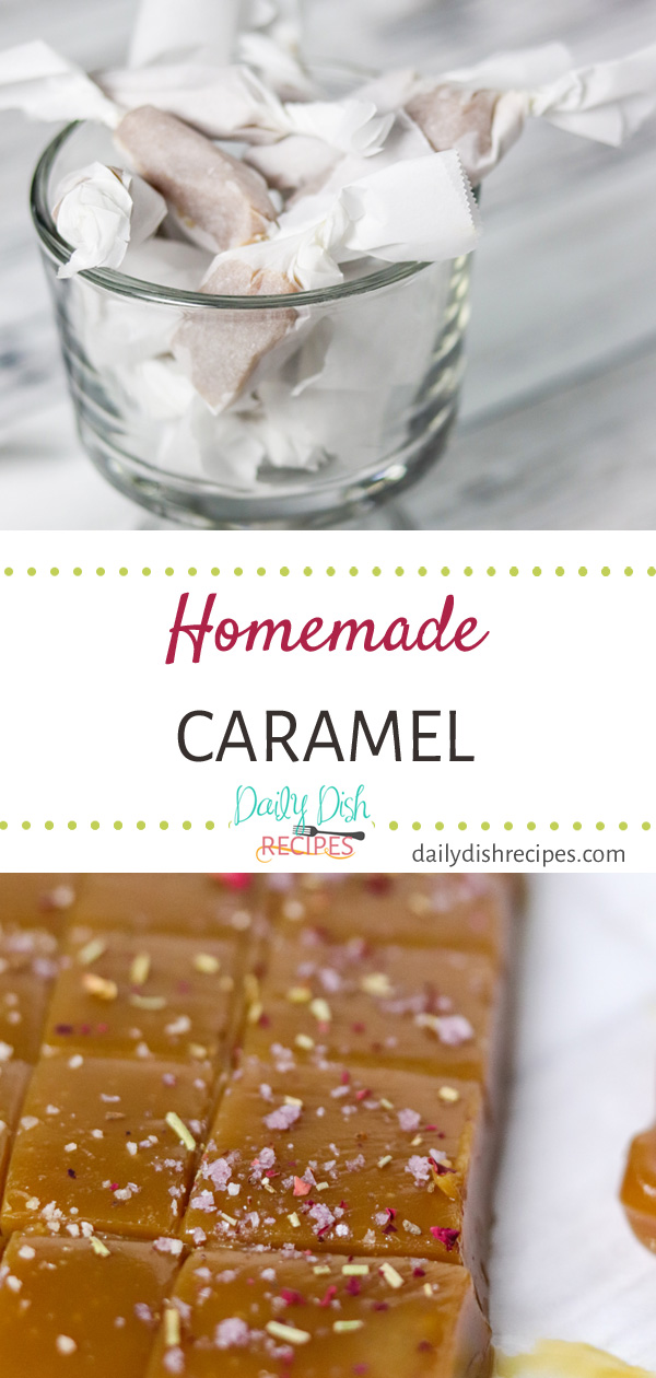 Creamy, buttery, rich taste, deliciously soft and chewy. They melt in your mouth and taste incredible - so much better Homemade Salted Caramels take some time, but result in a perfect candy and are great for gifts!