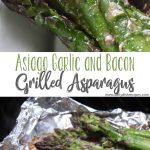 Asiago Garlic and Bacon Grilled Asparagus