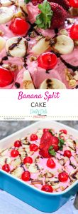Banana Split Cake Pinterest