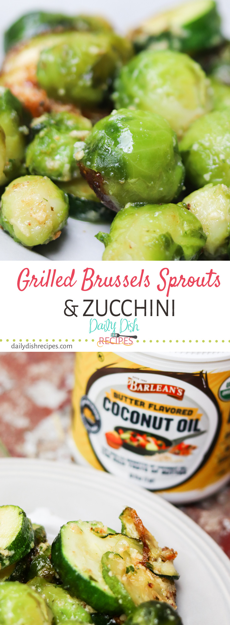 Need an easy side dish to feed a crowd at your next summer party? Flavorful Grilled Brussels Sprouts and Zucchini is the perfect side dish for you next Cookout, BBQ, Picnic or Backyard Pool Party.