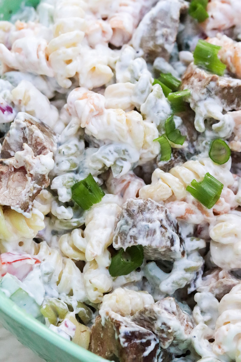 Grilled Duck Breast Pasta Salad