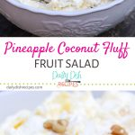 Pineapple Coconut Fluff Salad