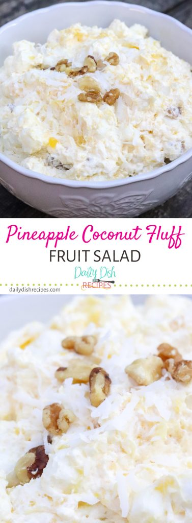 Pineapple Coconut Fluff Salad