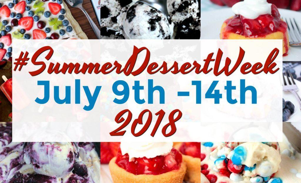 Summer Dessert Week