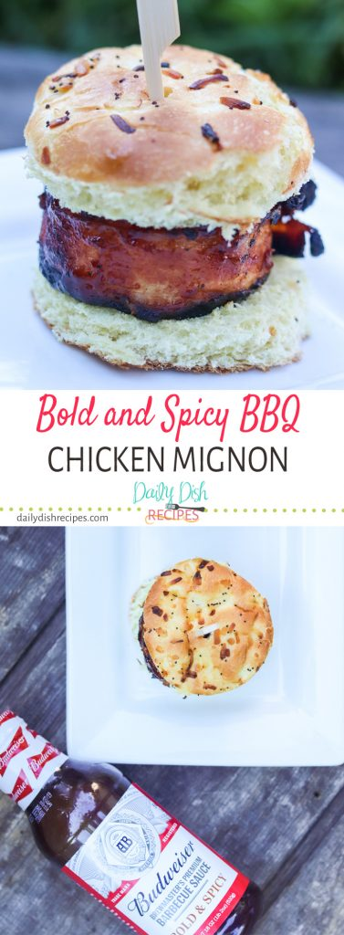 Bold and Spicy BBQ Chicken Mignon