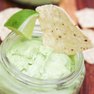 Easy Creamy Avocado Dip