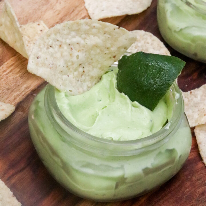 Easy Creamy Avocado Dip
