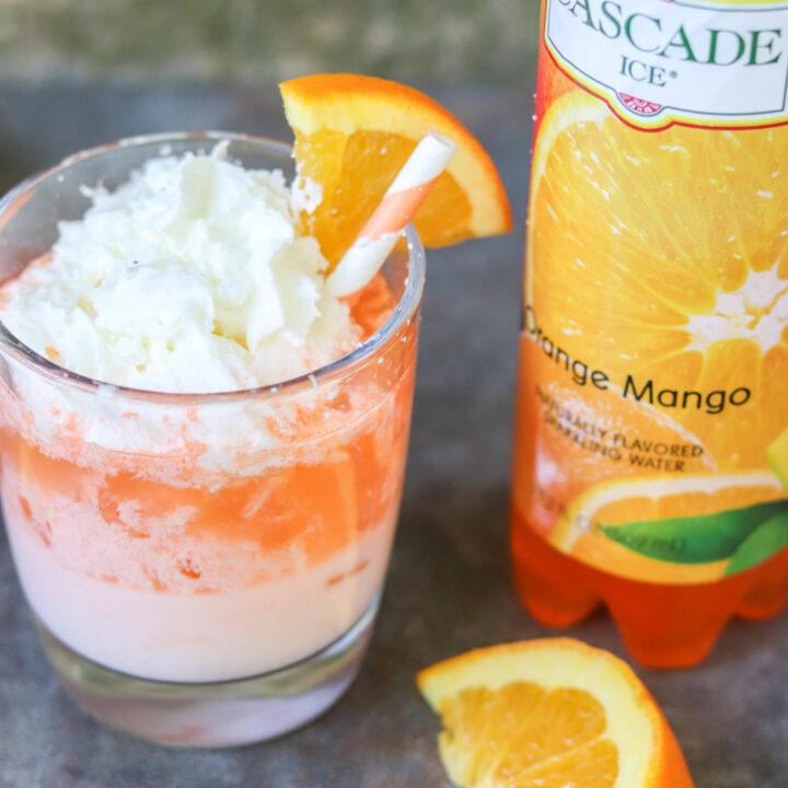 Easy Orange Creamsicle Cocktail