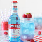 Layered Red White and Berry Lemonade