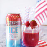 Red White & Berry Slushie