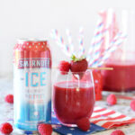 Red White & Berry Slushie
