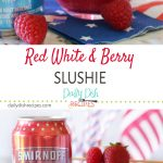 Red White and Berry Slushie