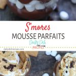 S'mores Mousse Parfaits