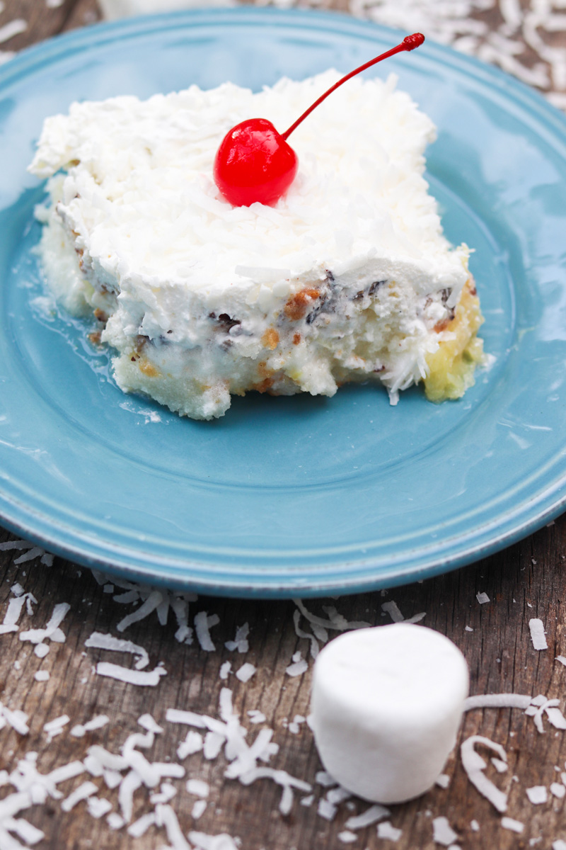 Tropical Summer Cake #SummerDessertWeek
