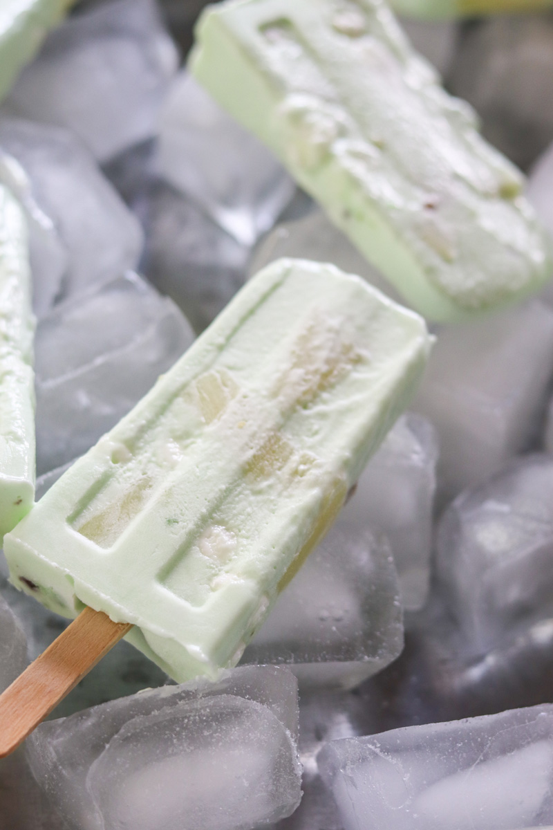 Watergate Salad Pudding Pops