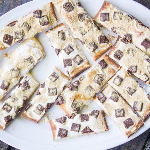 S'mores Flatbread Pizza