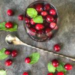 Cranberry Vanilla Rum Punch Pic