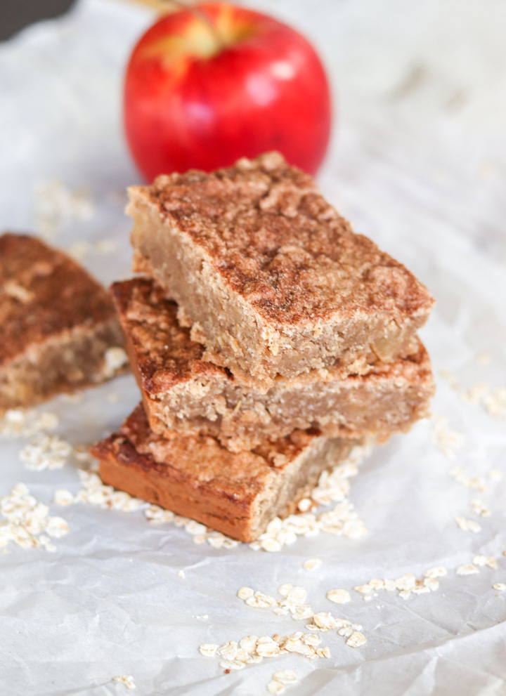Apple Cinnamon Oat Bars