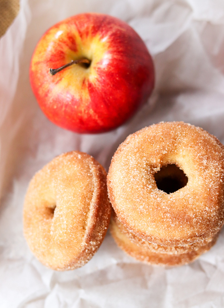 Apple Pie Donuts