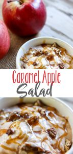 Caramel Apple Salad