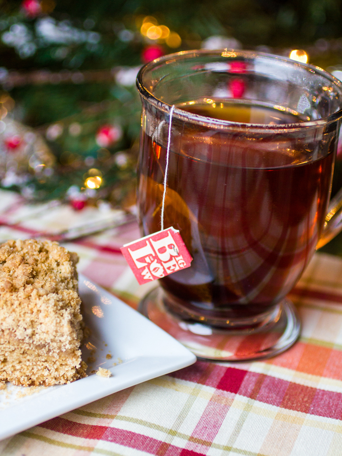 Maple Gingerbread Coffee Cake
