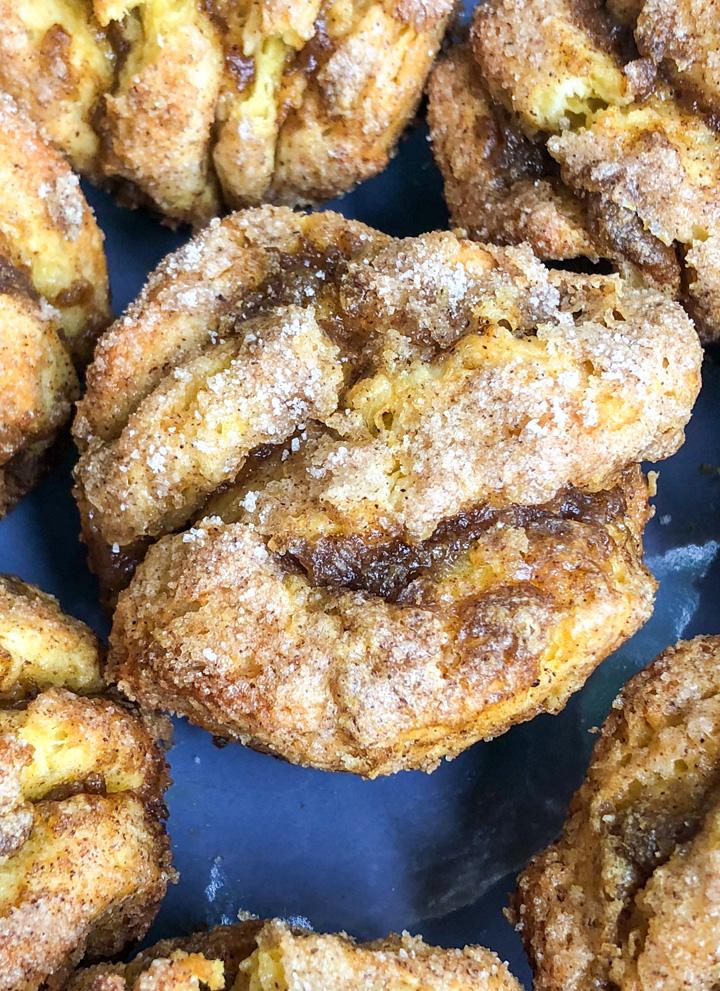 Pumpkin Pie Pull Apart Muffins